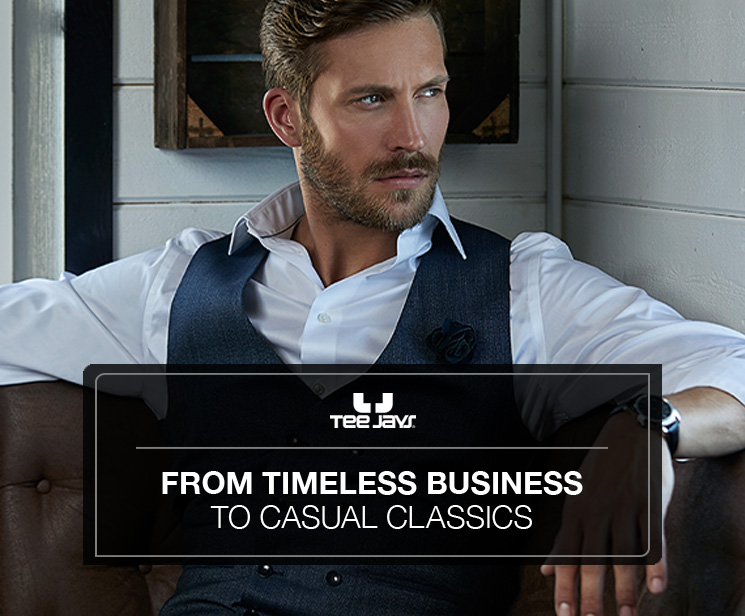 Tee Jays - From timeless business to casual classics